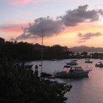 Sunset in Cruz Bay