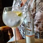 """A good glass of """"FifityPound Gin"""""""