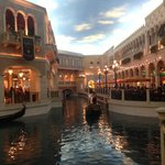 Grand Canal Gondola Ride and shops