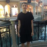 Happy Teen in front of Grand Canal
