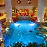 室内プールもミニマムサイズ