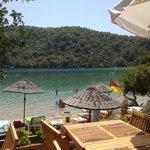 The stunning Blue Lagoon private beach
