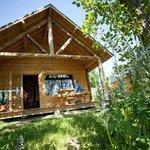 Les cabanes en bois - Huttopia Font Romeu
