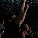 Confetti and pyrotechnics ended a great evening!