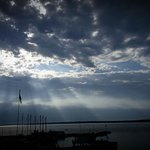 Beautiful Sunrise off our deck