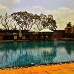 beautiful pool at hotel