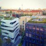 Вид из окна на Ebertstraße