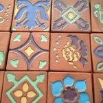 Catalina Tiles Made at Silver Canyon Pottery