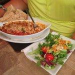 Cajun fish dish - delicious
