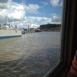 Uscendo dal porto