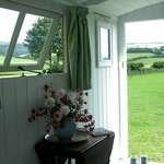 View from the Shepherd's Hut