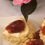 Cream tea made by Auntie Jane and delivered to your fridge