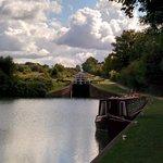 Caen Hill Locks Canalside