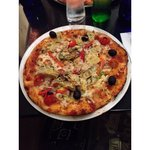 Giardineira pizza at Pizza Express