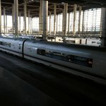 Trenes en Atocha