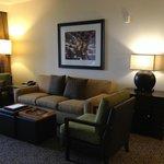 Living Room of 1BR Premium