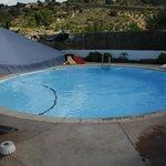 Heerlijk zwembad in de tuin