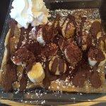 Banana and Nutella crepe