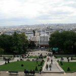 View from Sacre-Coeur, Paris, France