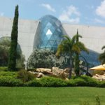 front of Dali Museum