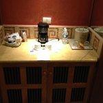 Uno de los plus! Cafetera en la habitación, té, azúcar, frigobar. Sin costo adicional!