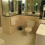 Huge bathroom in 1 bedroom suite