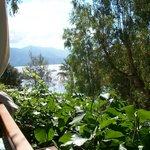 vista dal nostro bungalow