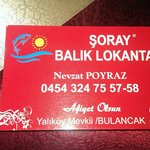 Soray Balik Lokantasi