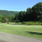 golf course entry