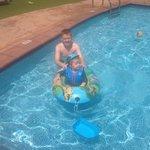 Baby pool fun!