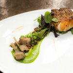 Tilefish with Pea Puree