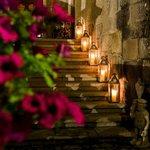Escaleras recepción