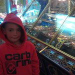 my son at blackpool