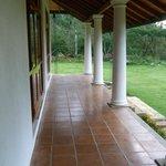 The lovely verandah