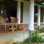 Our spot on the verandah