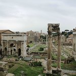 Foro Romano desde los Museos Capitolinos