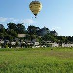 La Maison du Peche liegt direkt unter dem Schloß von Chaumont sur Loire