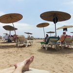 """le coin """"plage privée"""""""
