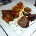 Dodge Inn Steak n Stuffed Shrimp