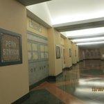 subway style corridor