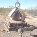 Shrine on the road to macdougal..
