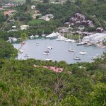 Marigot Bay from Hilltop above Oasis Marigot