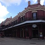 Muriel's in the heart of Jackson Square, great location