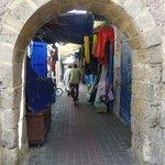 une des rues commerçante