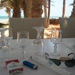 restaurant Poseidon face a la mer. vue superbe