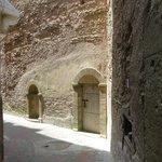 le mur du rempart de la médina