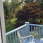 View out balcony door