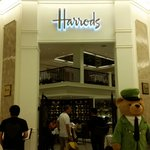 the new Harrods tea room in Siam Paragon, the mall connected to Kempinski hotel.