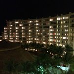 Night view of the resort