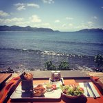 Lunch by the Ocean